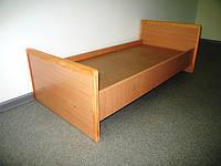 Ліжко дитяче з ДСП + деревина