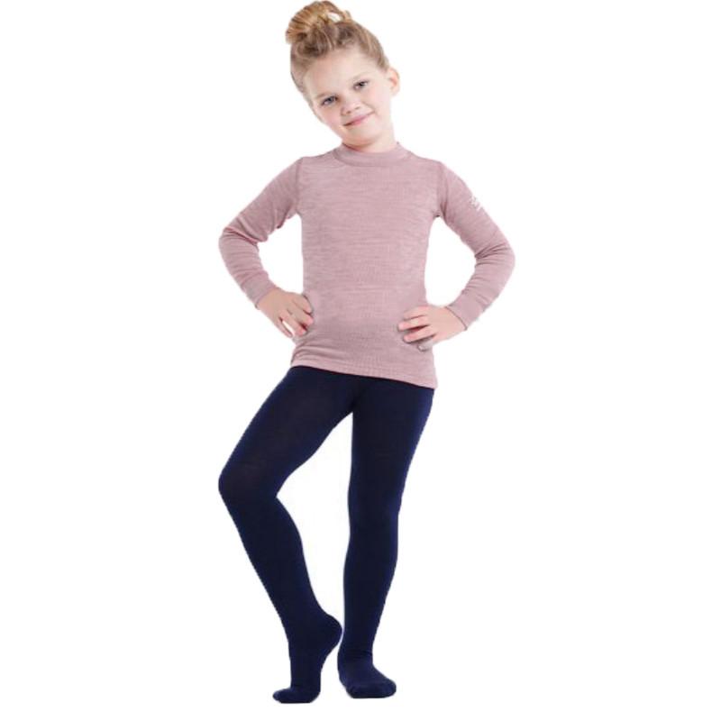 Термоколготки детские NORVEG Soft Merino Wool (размер 98-104, тёмно-синий)