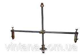 Муфта соединительная (труба-наружная резьба никелированная) для гофрированной трубы из нержавейки Dispipe., фото 3