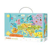 """Пазл DoDo """"Карта Европы"""" английская версия 300124"""