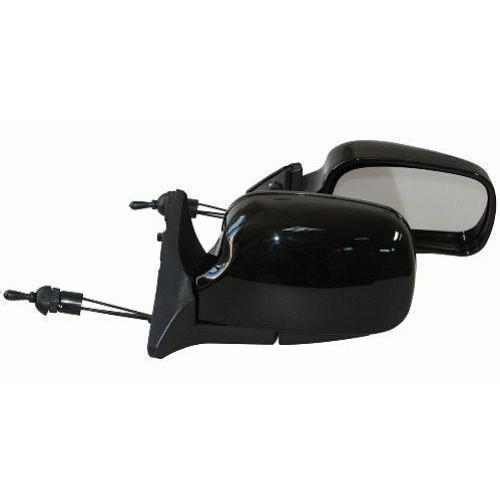 Зеркало боковое ЗБ 3107/LADA 04,05,07/BLACK черное (ЗБ 3107 BLACK)