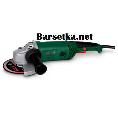 Угловая шлифовальная машина (болгарка) DWT WS13-180 T (гарантия 2 года, длинная ручка, полупрофессиональная)