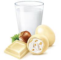Kinder Schoko Bons Конфетки в виде мини яиц из белого шоколада со сливочной начинкой и дроблённым фундуком, фото 3
