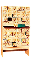 Шафа картотечна (60 шухл.)