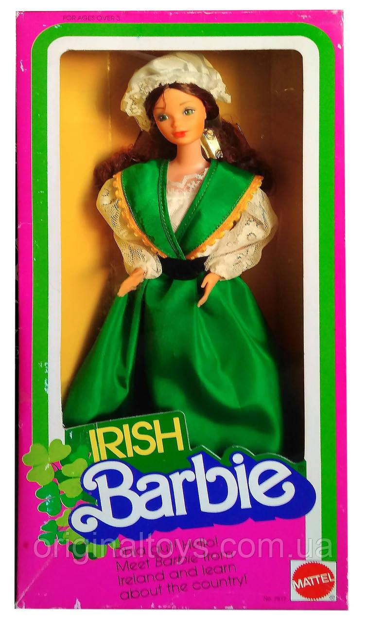 Коллекционная кукла Барби Ирландия Куклы Мира Barbie Irish Dolls of the World 1983 Mattel 7517