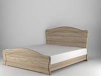 Кровать Виолетта с пружинными подъемниками 160x200 дуб сонома