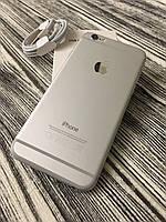 Смартфон Apple Iphone 6 16gb Silver Neverlock Б/У оригинал ИДЕАЛЬНОЕ СОСТОЯНИЕ