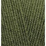 Пряжа для вязания Лана голд файн 29 хаки