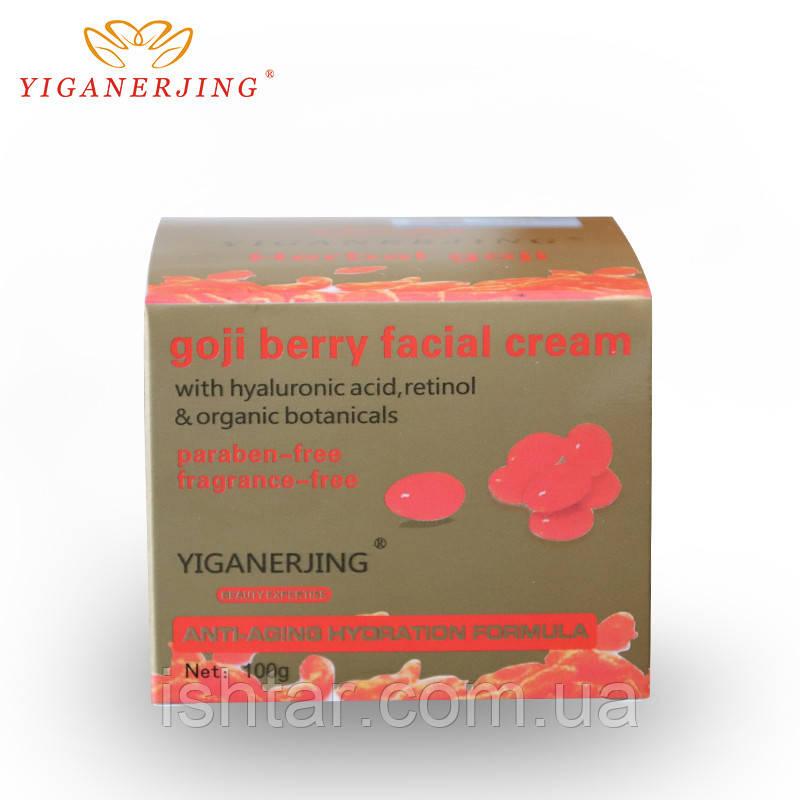 Увлажняющий крем для лица против морщин Лициум Yiganerjing, упаковка 100г.