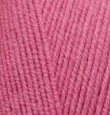 Пряжа для вязания Лана голд файн 359 темная роза