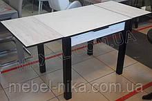 Стіл обідній МАРСЕЛЬ 110(+35+35)х75