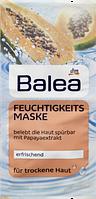 Увлажняющая маска для лица Balea Папайя