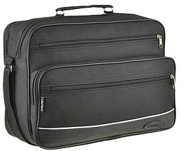 Класична чорна чоловіча сумка з поліестеру Wallaby 2650