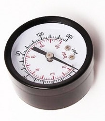 Инидикатор давления 1/4' 10Bar (Д 50мм)