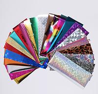 Фольга для ногтей (маникюра) №21, 24 цвета