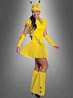 Женский карнавальный костюм покемона Пикачу, фото 1