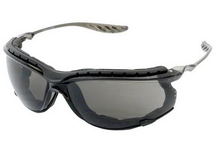 Очки тактические Swiss Eye Sandstorm, затемненное стекло, оправа черная