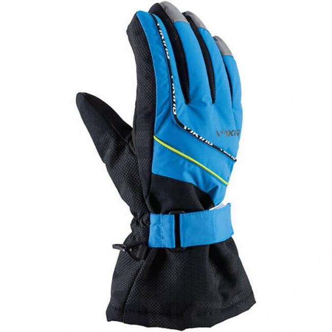 Гірськолижні рукавички Viking Mate сині | розмір 4