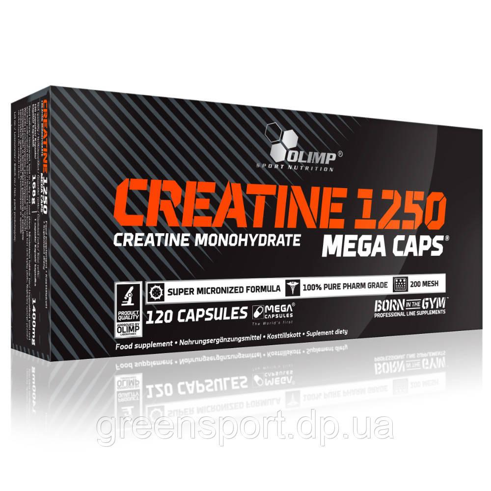 Креатин Olimp Creatine 1250 Mega Caps 120 капсул