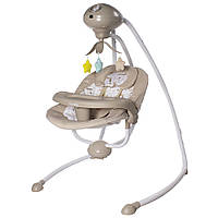 Электронные Люлька качели Укачивающий центр для новорожденных CARRELLO Fantazia CRL-7503 Fall Beige /1/