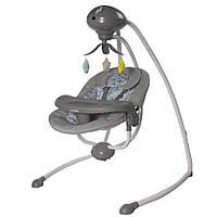 Электронные Люлька качели Укачивающий центр для новорожденных CARRELLO Fantazia CRL-7503 Lovely Grey /1/