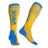 Мужские компрессионные 2XU спортивные носки MA2442ua.