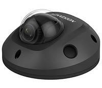 DS-2CD2563G0-IS (2.8 мм) черная 6Мп мини IP видеокамера Hikvision с ИК подсветкой