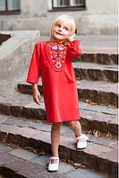 Детское платье с этнической вышивкой