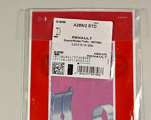 Опорний вкладиш колінчатого вала на Renault Trafic 2001-> 2.5 dCi — Glyco (Німеччина) - A289/2 STD