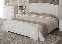 Кровать Анабель + 4 ящика 160x200 белый супер мат