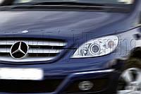 "Mercedes Benz B-Class - замена штатных линз на би-ксеноновые G6 /Q5 H4 D2S 3,0"" в фарах"