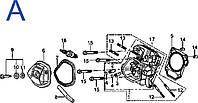 Запчасти для мотопомпы бензиновой Sadko WP-100