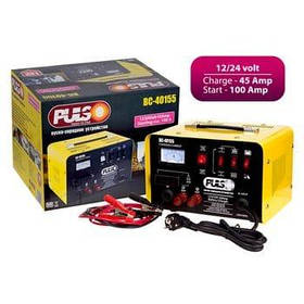 Пуско-зарядное устройство 12-24V / 45A / Start-100A / 20-300AHR / стрел.индик PULSO BC-40155