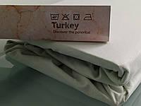 Трикотажные простыни на резинке на Евро матрасы 180*200см, Турция