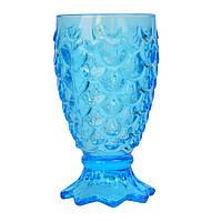 Бокал стеклянный Anais голубой SKL11-209425
