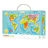"""Пазл DoDo """"Карта Мира"""" английская версия 300123"""