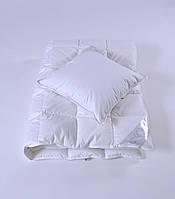 Одеяло  пуховое детское 110×140 см,  200 г,  90% белый гусиный пух