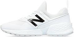 Женские кроссовки New Balance 574 Sport White MS574KTC, Нью беланс 574