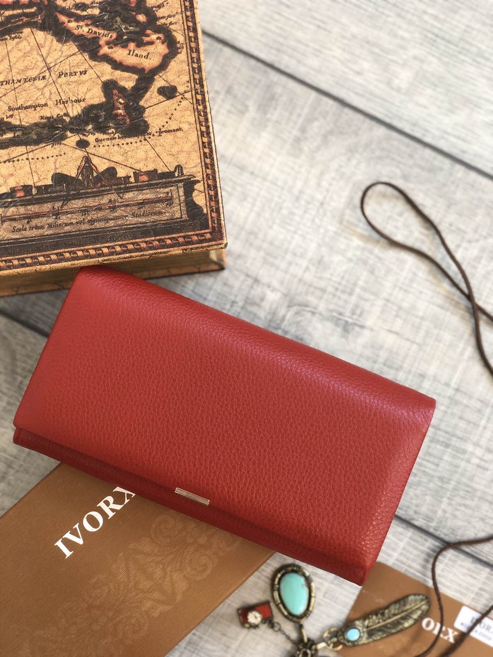 Женский длинный кошелёк
