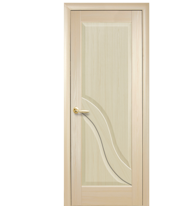 Межкомнатная дверь АМАТА ясень  700 мм глухая