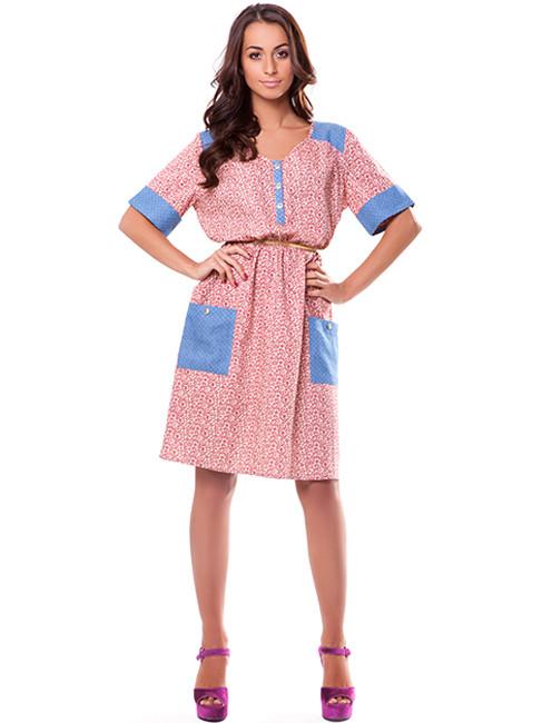 Обаятельное женское платье на лето (S-2XL)