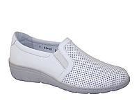 Жіночі черевики Lesta (Польща) 261-4360-1-0093 білого кольору. Дуже красиві та комфортні.