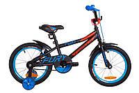 """Велосипед 16"""" Formula FURY 14G St с крылом Pl 2019 (черно-красный с синим (м))"""