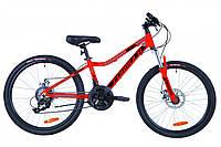 """Велосипед 24"""" Formula ACID 2.0 AM 14G DD Al 2019 (красно-черный с синим)"""