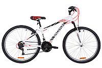 """Велосипед 26"""" Discovery RIDER AM 14G Vbr St 2019 (черно-красный)"""