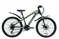 """Велосипед 24"""" Formula DAKAR 2020 (красно-черный с синим)"""