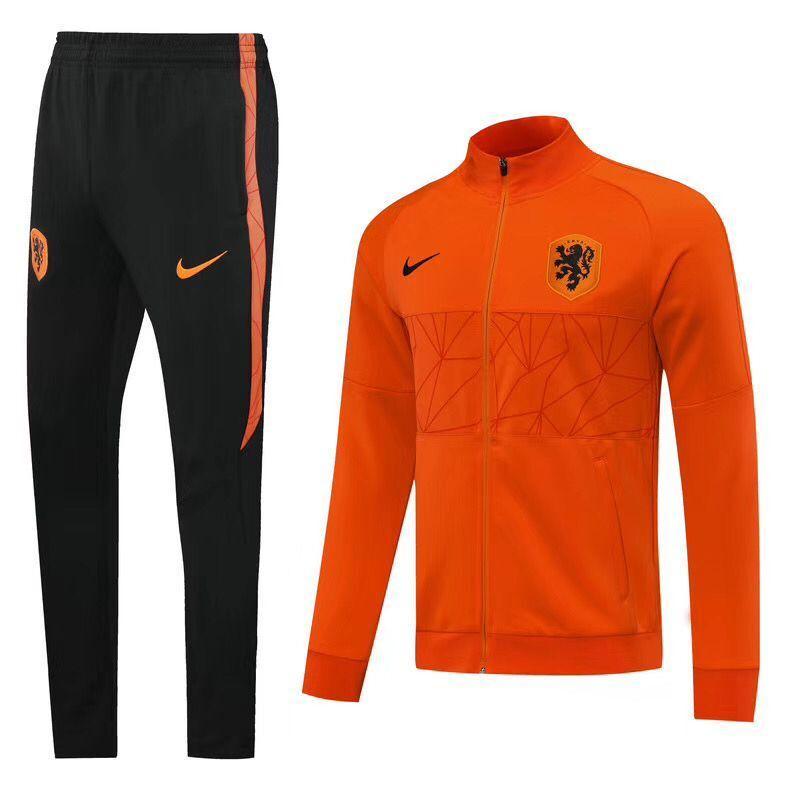 Спортивный тренировочный костюм сборной Голландии (Нидерланды) 2020-21
