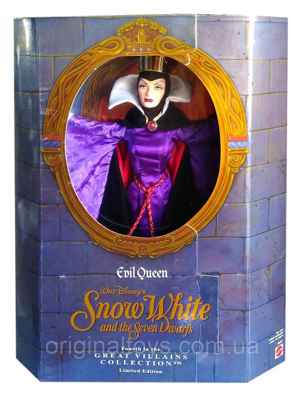 Коллекционная кукла Злая Королева Белоснежка Evil Queen Great Villains Collection 1998 Mattel