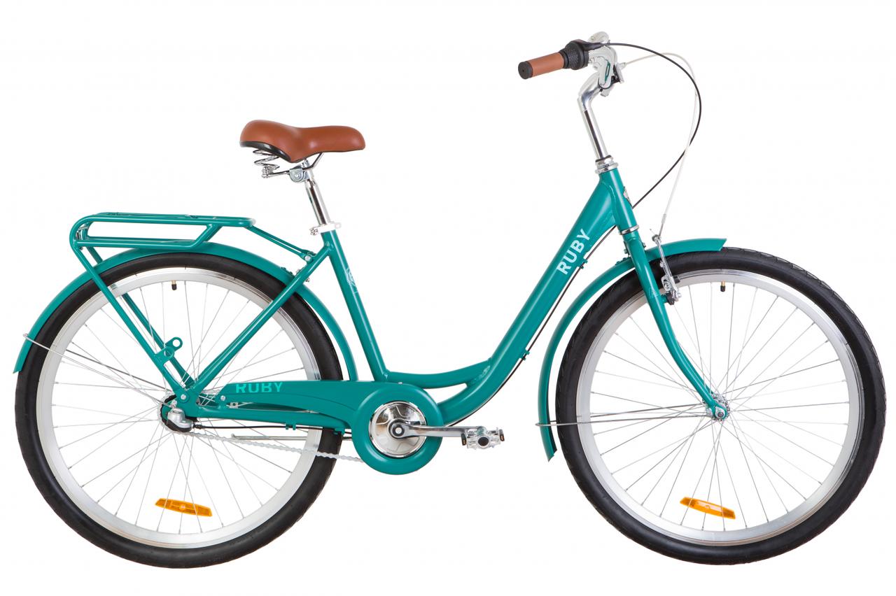 "Велосипед 26"" Dorozhnik RUBY планет. 2020 (изумрудный (м))"