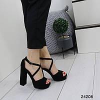Женские босоножки на высоком каблуке, фото 1